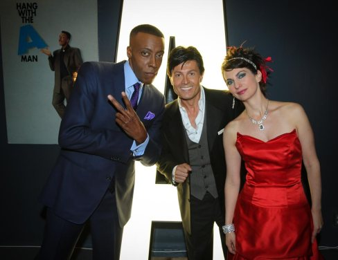Simone Vitucci, Arsenio Hall, Ivan Amodei